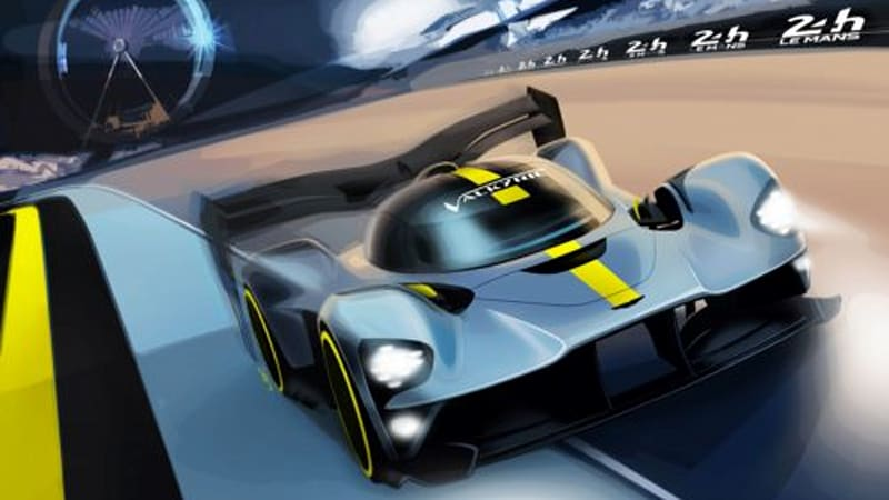 Aston Martin will race the Valkyrie hypercar at Le Mans in 2021