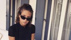 Adèle Exarchopoulos s'amuse de la différence entre Instagram et la