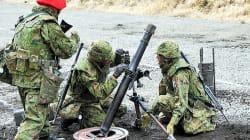 陸自の砲弾、演習場を飛び越え国道に。乗用車のガラスを割る