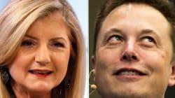 Arianna Huffington y Elon Musk debatieron sobre la necesidad de