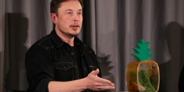 Elon Musk habla en una conferencia el 17 de mayo de 2018, en California (EEUU).