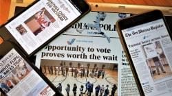 米中間選挙、新聞が選挙結果を報じず「続きはネットで」