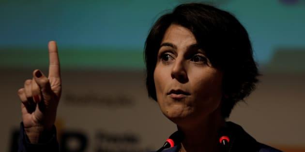 """""""Todo mundo defende o 'Fora, Temer'. O governo Temer está morto. Esse fantasma procura reencarnar. Ninguém quer o encosto"""", afirmou Manuela D'Ávila."""