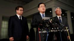 トランプ大統領、金正恩氏と会談へ 韓国発表