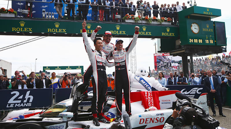 Toyota and Fernando Alonso win at Le Mans