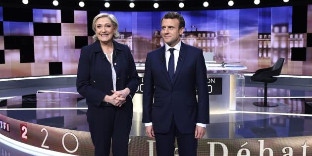 Marine Le Pen réélue présidente du FN à l'unanimité