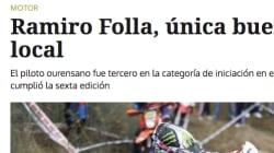 El titular de 'La Región' de Ourense que arrasa en