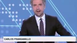 Nunca habías visto empezar el Telediario de TVE como ha empezado esta