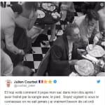 Julien Courbet publie la photo du voleur de son sac et dévoile leur