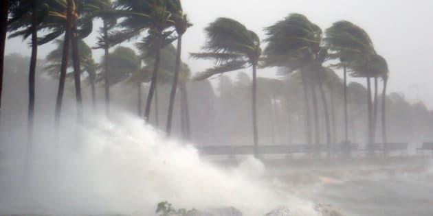El huracán Irma en Miami. Septiembre 2017.