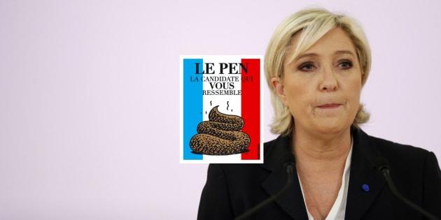 Comparée à un étron par Laurent Ruquier, Marine Le Pen perd un troisième procès