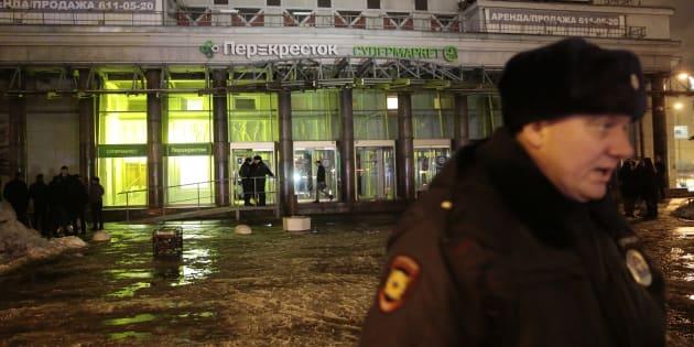 Poutine: l'explosion à Saint-Pétersbourg est un