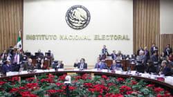 INE aprueba organizar elección de