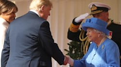 Trump revela que la reina de Inglaterra le hizo esperar 15