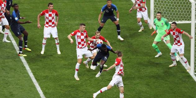 Antoine Griezmann anotó el sexto penal en una final de futbol; esta vez, fue por la vía del VAR. (Photo by Kevin C. Cox/Getty Images)