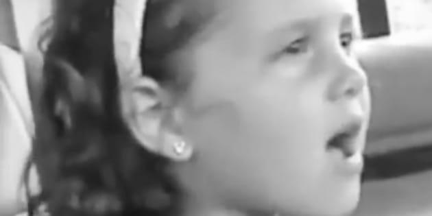 Toute petite, Ariana Grande maîtrisait déjà à la perfection les imitation de ses chanteuses préférées.