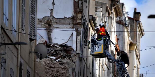 Huit personnes sont décédées dans l'effondrement de deux immeubles, rue d'Aubagne, le 5 novembre dernier.