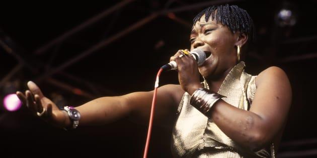 The late 'MaBrrr', Brenda Fassie.