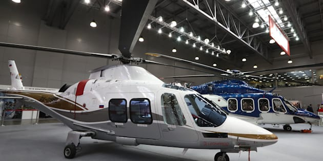 A file photo of AgustaWestland helicopters for representative purposes only.