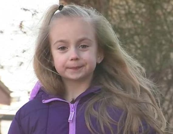 Girl saves family from fire in their home