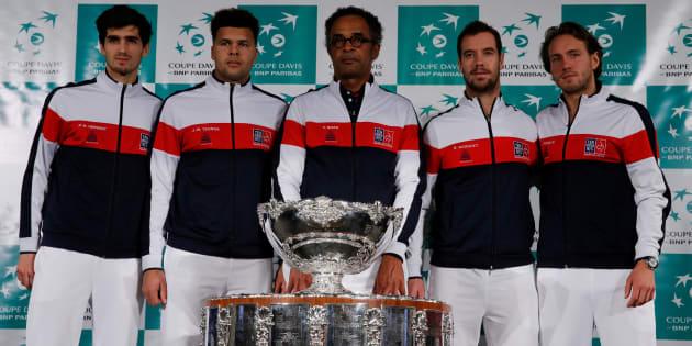 Coupe Davis : le Nordiste Lucas Pouille sélectionné pour affronter la Belgique