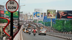 This Delhi Flyover's Gap Has Literally Left Commuters In A