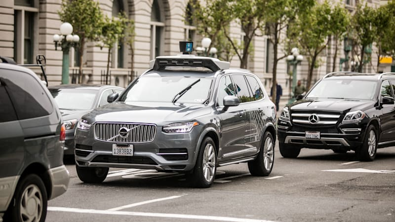 Volvo signs deal with Uber for self-driving auto supply