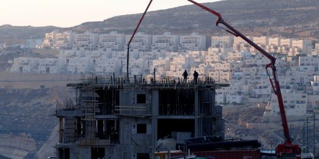La colonie de Givat Zeev, le 22 décembre 2016.