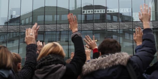 La grève à iTélé, la plus longue de l'histoire de l'audiovisuel français depuis 1968