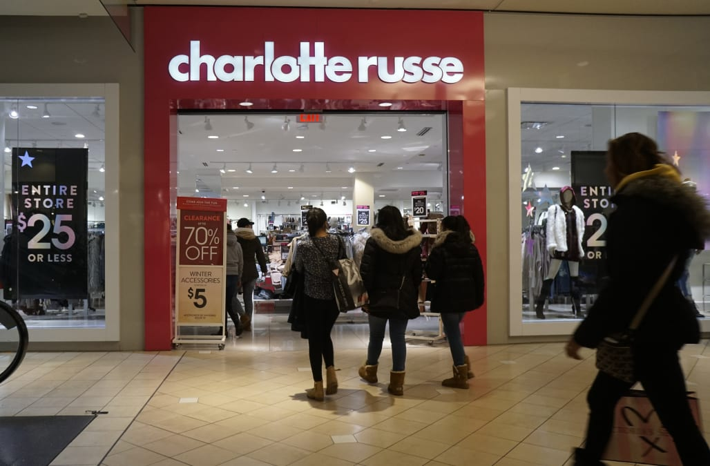 0e34c5eb62 Charlotte Russe plans to close 94 stores as it files for bankruptcy —  here s the full list
