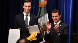 Lejos, muy lejos de México, EPN impone a Jared Kushner la Orden del Águila