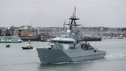 La Royal Navy dépêche un navire pour contrer les