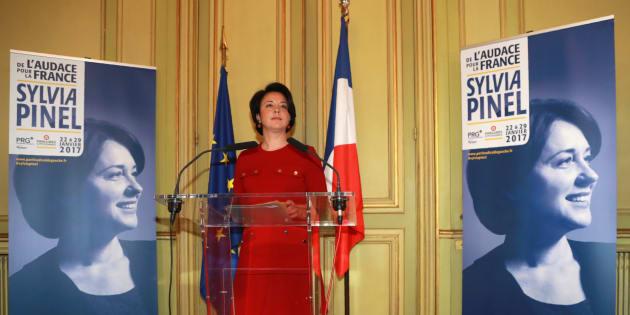 Sylvia Pinel à Paris le 5 janvier 2017.