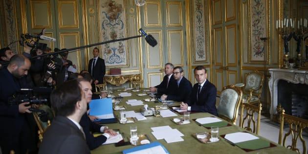 Emmanuel Macron à l'Elysée mercredi 5 novembre.