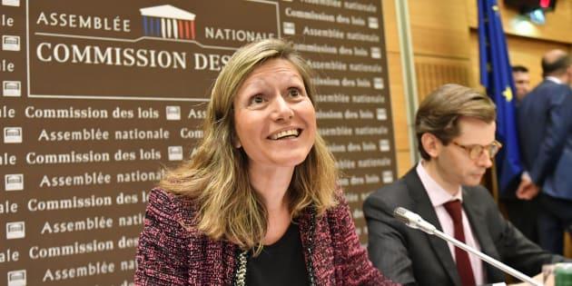 Yaël Braun-Pivet à l'Assemblée nationale le 25 juillet 2018.