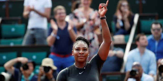 Roland-Garros: Serena Williams fait un retour victorieux.