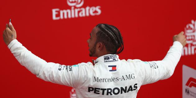 Lewis Hamilton, corredor de Mercedes, ganó el Gran Premio de Alemania.