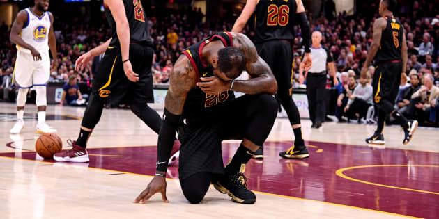 LeBron James le 8 juin lors de la finale de la NBA.