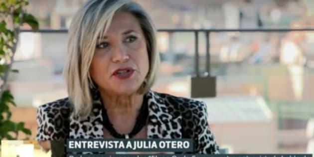 La periodista Julia Otero en Liarla Pardo.