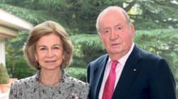 El importante detalle en la felicitación navideña de Juan Carlos y Sofía: no se veía desde hace