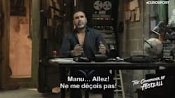 Avant la finale de la Ligue Europa, Cantona lance un défi à Macron (qui plaira aux