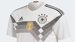 Après l'élimination de l'Allemagne, les maillots de la Mannschaft