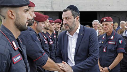 SALVINI PICCONA ANNI DI DIPLOMAZIA ITALIANA IN MEDIO ORIENTE - Con Netanyahu stringe un