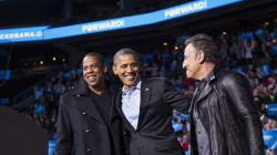 Barack Obama, The President Of Pop