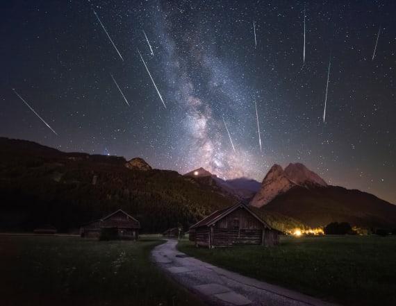 'Unicorn' meteor shower to light up skies tonight