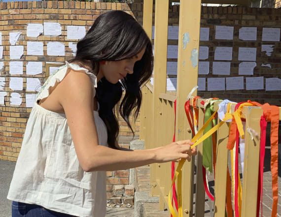 Meghan Markle honors murdered South African student