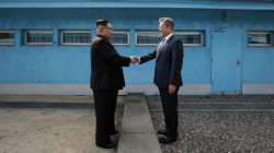 Le sommet intercoréen a donné lieu à des surprises... et à plusieurs poignées de
