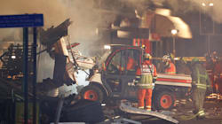 Explosion d'un immeuble à Leicester en Grande-Bretagne, 2 blessés