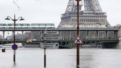 EN FOTOS: París atraviesa el invierno más húmedo en