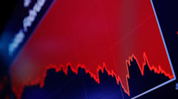 Dow Plunges Nearly 1,600 Points In Biggest Intraday Point Drop In